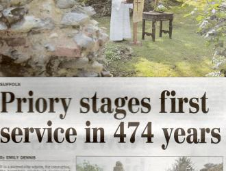 2011 Priory SERVICE in the paper